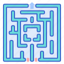 game, labyrinth, map, maze icon