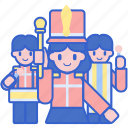 band, carnival, circus, marching, parade icon