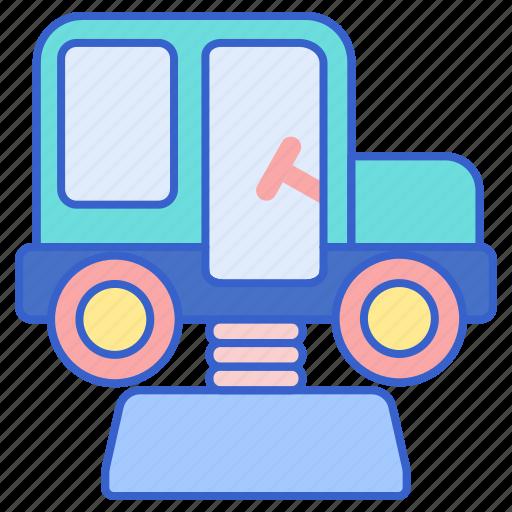 amusement, car, kids, park, ride icon