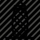 england, gherkin, london, tower icon