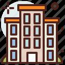 building, building2, citylife, rural icon