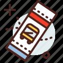 building, bus, citylife, rural, ticket icon