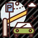 building, citylife, garaje, parking, rural icon