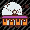 building, citylife, rural, tram icon