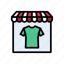 cloths, shopping, garments, shop, store icon