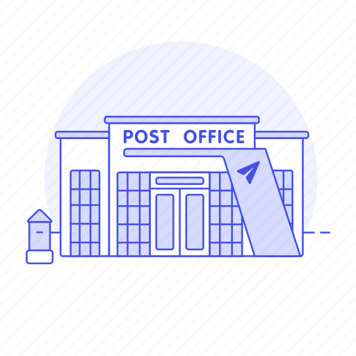 3, building, city, courier, letter, mail, mailbox, office, parcel, post, postal, public, services icon