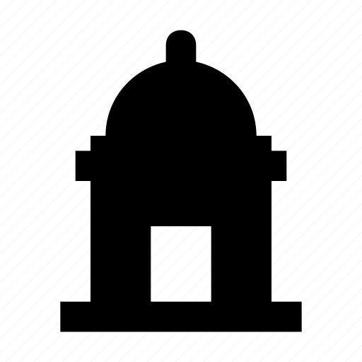 historical building, islamic building, mosque, real estate, tomb building icon