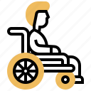 accessibility, disabled, facility, handicap, wheelchair icon