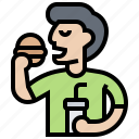 eating, fast, food, market, meal icon