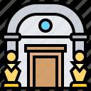 entrance, exhibition, landmark, museum, tourist icon