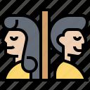gender, restroom, sign, toilet icon