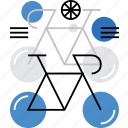 bicycle, eco, race, racing, sport, transportation, trip icon