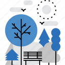 camping, comfort, leisure, nature, park, picnic, recreation icon