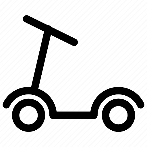 bike, city, scooter, transporation icon