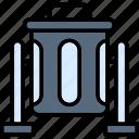 bin, delete, dustbin, garbage, recycle, remove, trash