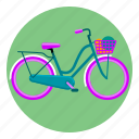 bicycle, bike, cycling, wheel icon