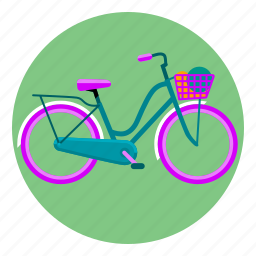 bicycle, bike, cycling, wheel icon