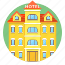 hotel, building, home, hostel