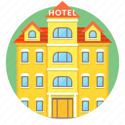 building, home, hostel, hotel icon