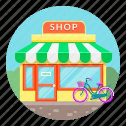 market, shop, shoping, shopping, store icon