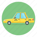 taxi, car, auto, automobile