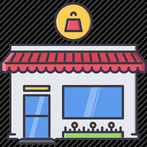 architecture, building, market, purchase, shop, store icon