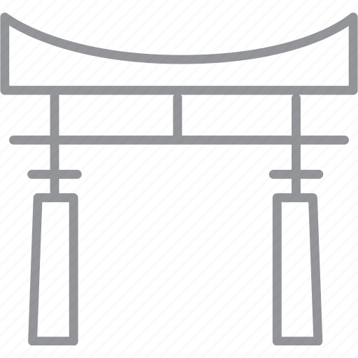 building, city, journey, line, tokyo, vacation icon