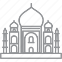 building, city, delhi, journey, line, vacation icon