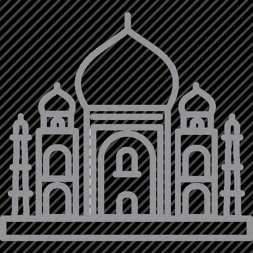building, city, delhi, journey, line, vacation icon