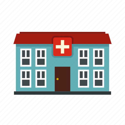building, cross, emergency, health, hospital, medical, medicine icon