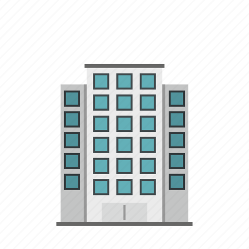 building, construction, estate, home, real, residential, skyscraper icon