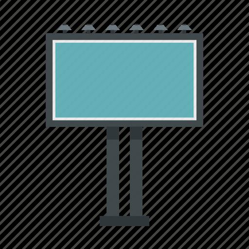advertisement, advertising, banner, billboard, blank, empty, marketing icon