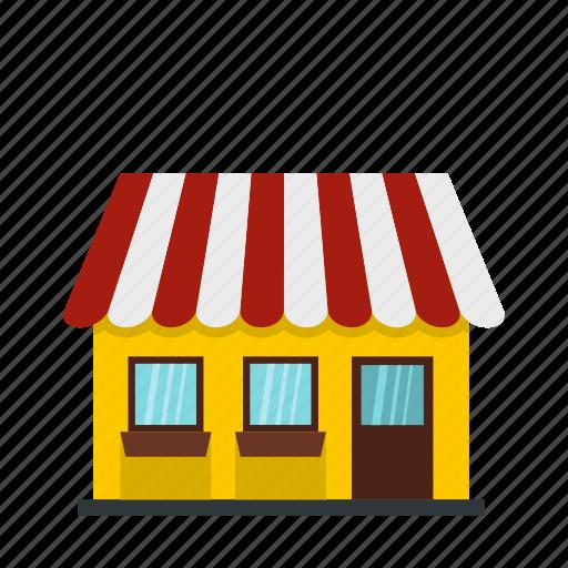 building, business, city, door, facade, shop, store icon