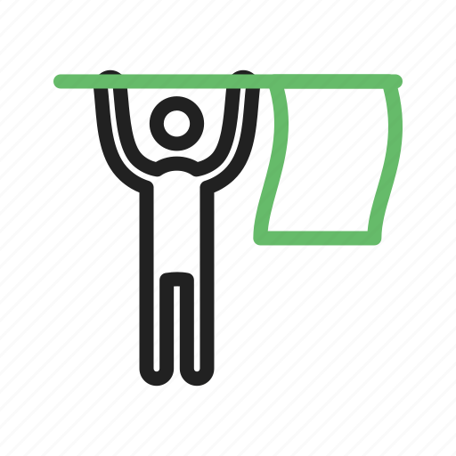 Finish, flag, line, marathon, people, race, racing icon - Download on Iconfinder
