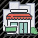 shop, city, shopping, commerce, market, store