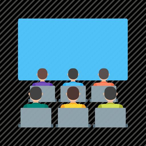 audience, cinema, entertainment, movie, movies, theater, watching icon