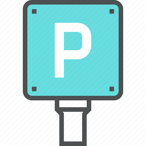 driving, park, parking, place, roadsign, traffic, transport icon