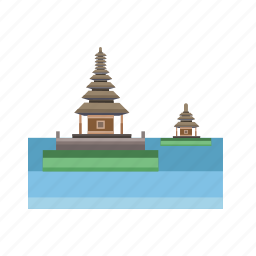 bali, building, city, indonesian, monument, travel icon