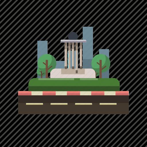 bangka belitung, building, city, indonesian, monument, travel icon