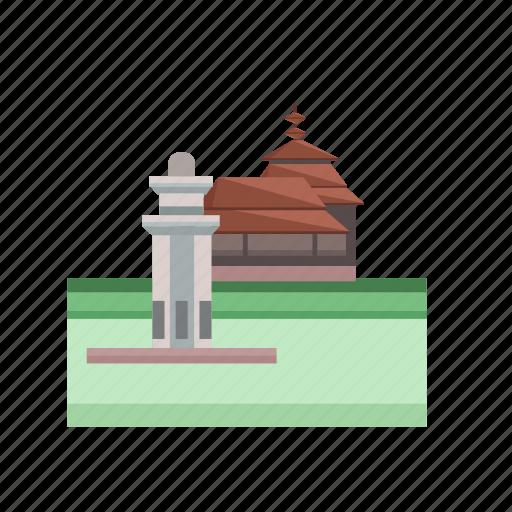 banten, building, city, indonesian, monument, travel icon
