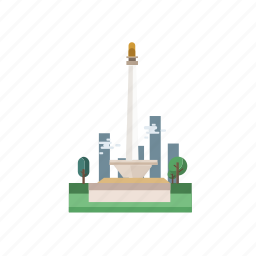 building, city, indonesian, jakarta, jakarta city, monument, travel icon