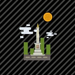 building, city, indonesian, jogja city, monument, travel, yogyakarta icon