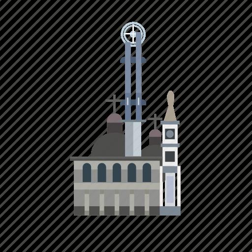 building, city, indonesian, monument, pontianak, travel icon