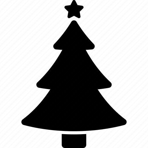 new, tree, year icon