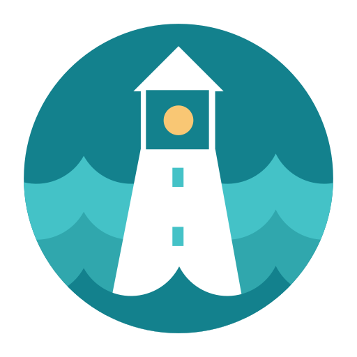 citycons, help, lighthouse icon