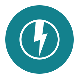 citycons, electric, power icon