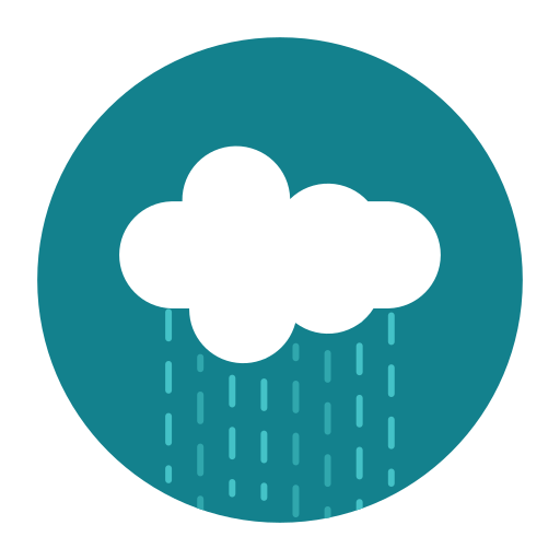 citycons, cloud, rain, rainy, weather icon