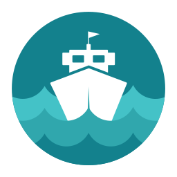 citycons, sea, ship icon
