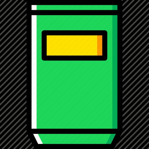 building, can, city, cityscape, trash icon