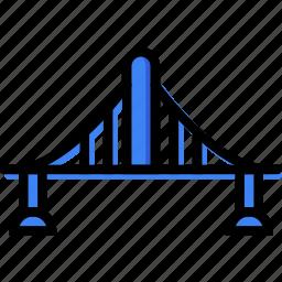 bridge, building, city, cityscape icon